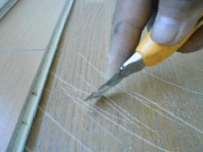 床重ね貼り補修03貼りつけ前のケガキ.JPG