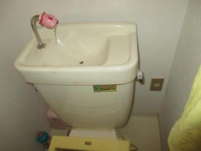 トイレ洗浄レバー不調修理08ボールタップの角度修正で完了後.JPG