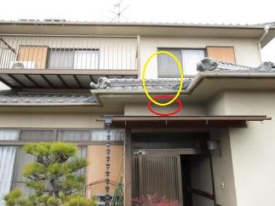 玄関雨洩り04外部全景.JPG