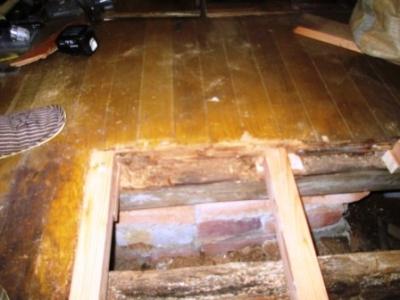 洗濯場床修理15フロアーパネル張り.JPG