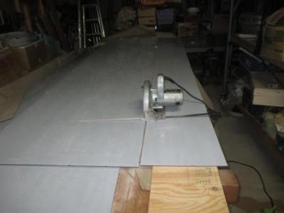 カーポート屋根22ポリカ板の切断加工?巾落とし切断.JPG