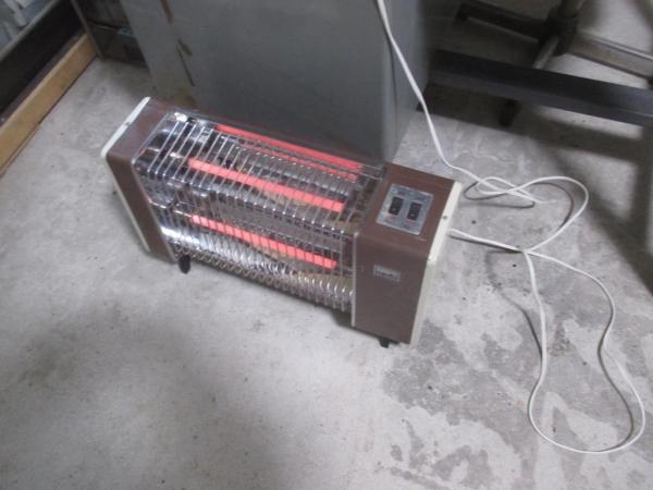 古い電気ストーブ修理?完成とテスト例.JPG