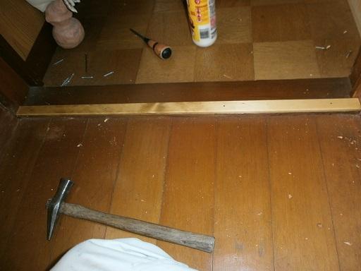 ドア建具スキマ修理?.JPG