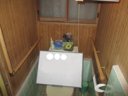 手摺取付(トイレ)内壁鋼・木の混合下地3.JPG