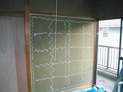 和室内壁合板下地?ボンド塗り例.JPG
