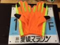 愛媛マラソン 手袋