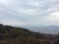 金刀比羅宮より讃岐富士を眺む