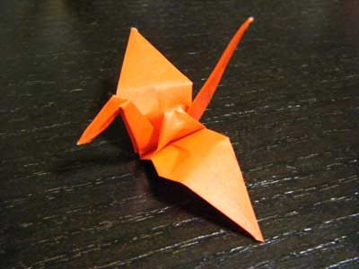 折り鶴その2