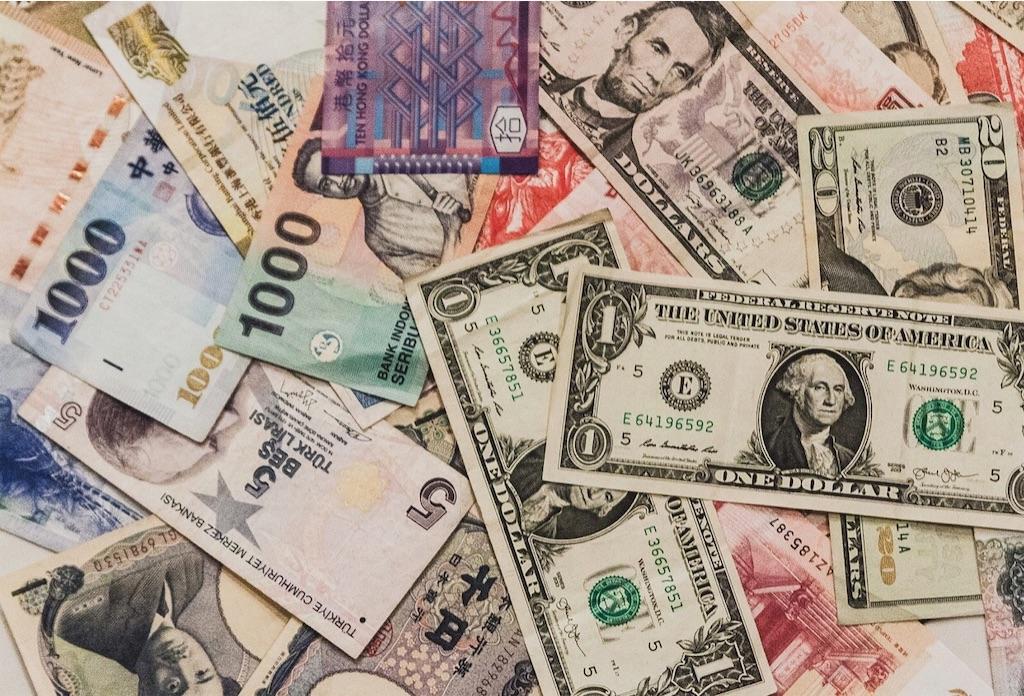 世界の通貨、紙幣