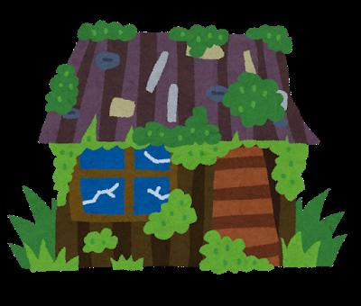カビとサビとコケにまみれた建物