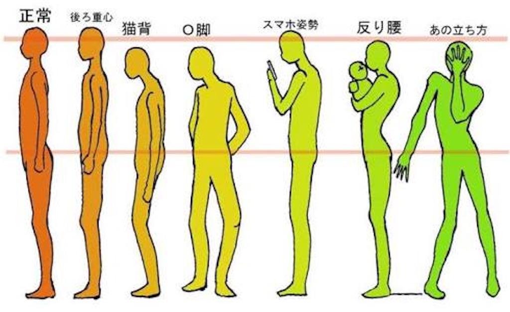 姿勢が悪い人必見!正しい姿勢への矯正術! - くうが@理学療法