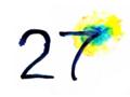 27° にじみ