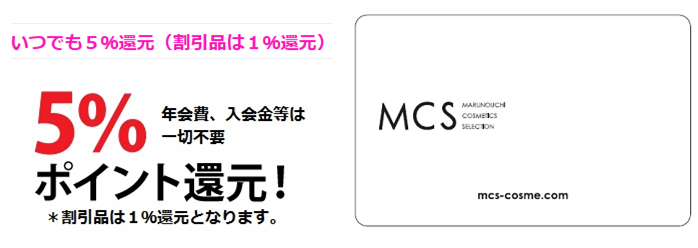 """MCS Point Card"""