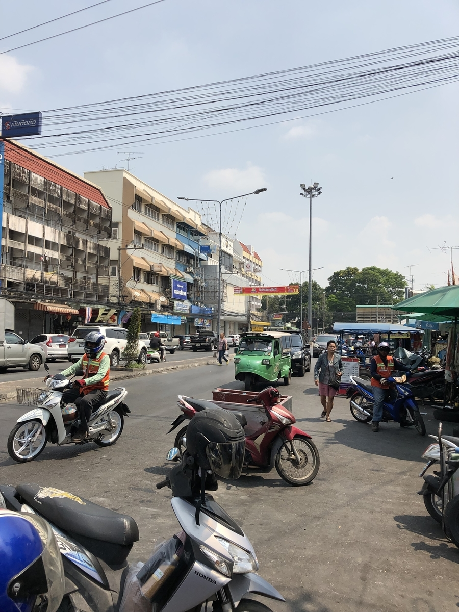 アユタヤ 市場