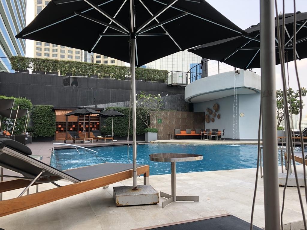 プルマン バンコク ホテル G プール
