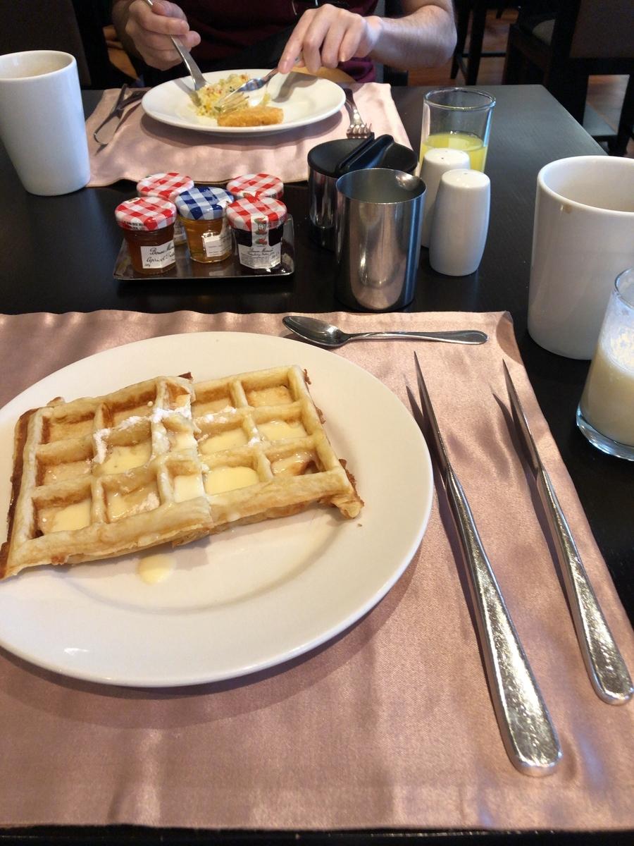 コンラッドバンコク CAFE@2 朝食