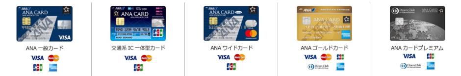 ANA VISA カード ワイドカード 一般カード ワイドゴールド プレミアムカード