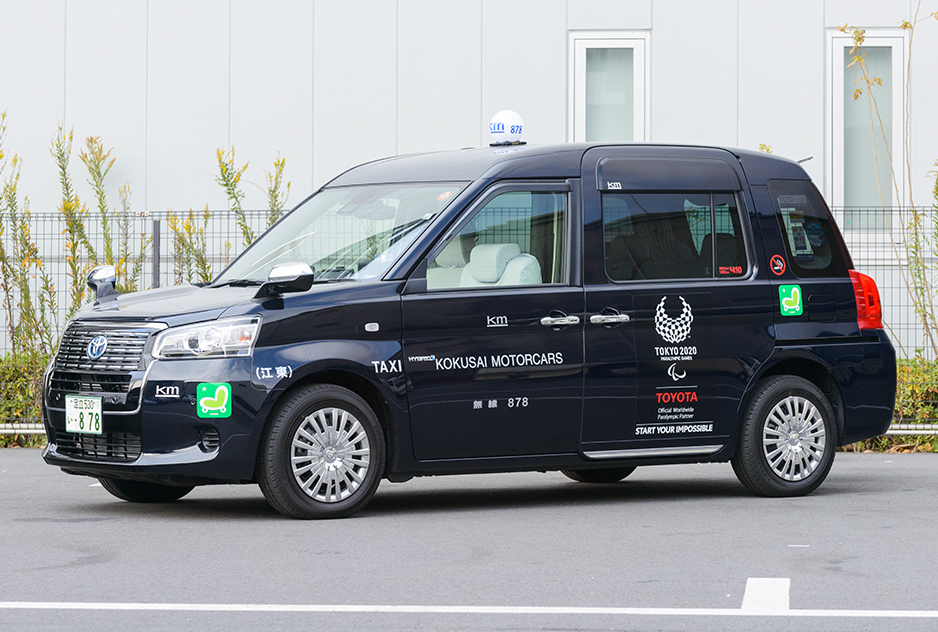 JPN TAXI トヨタ ミニバンタクシー 乗りやすい
