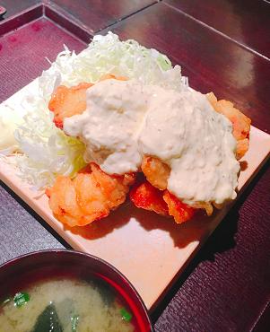 九州 熱中屋 赤坂LIVE:チキン南蛮定食