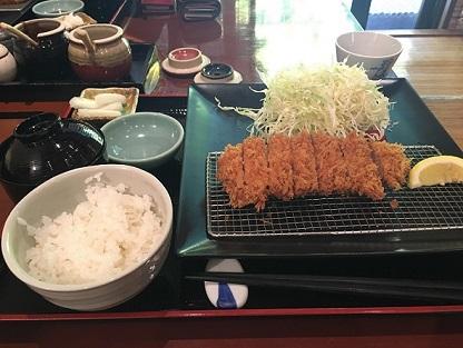 永田町 黒澤:鹿児島黒豚 ご奉仕ロース