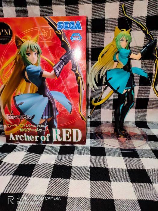 Fate/Apocrypha SPMフィギュア 赤のアーチャー:箱絵との比較ツーショット