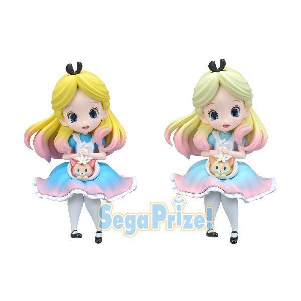 Disney Characters Sprinkles Sugar 〜Pink ver.〜 プレミアムフィギュア-Alice-|セガプラザ