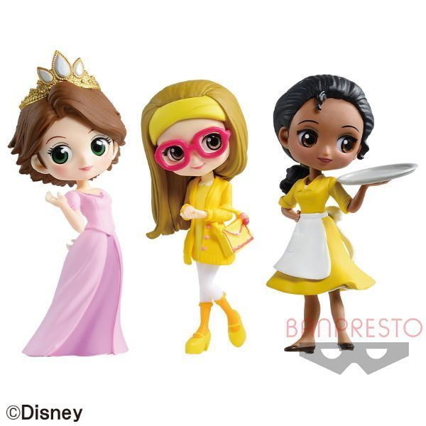 バンプレストナビ | Disney Character Q posket petit -Rapunzel・Honey Lemon・Tiana-