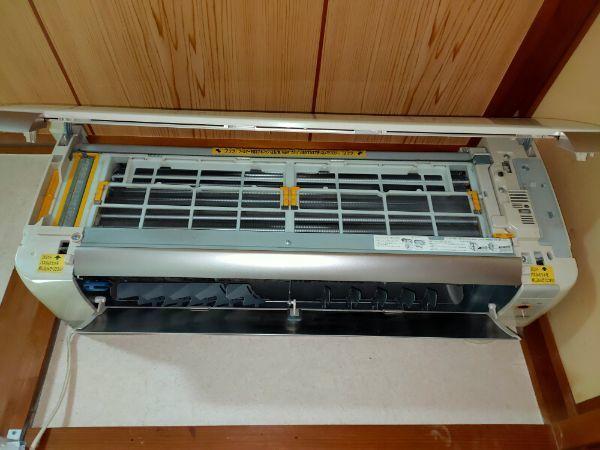 今回掃除する日立のエアコン【RAS-S36Y】