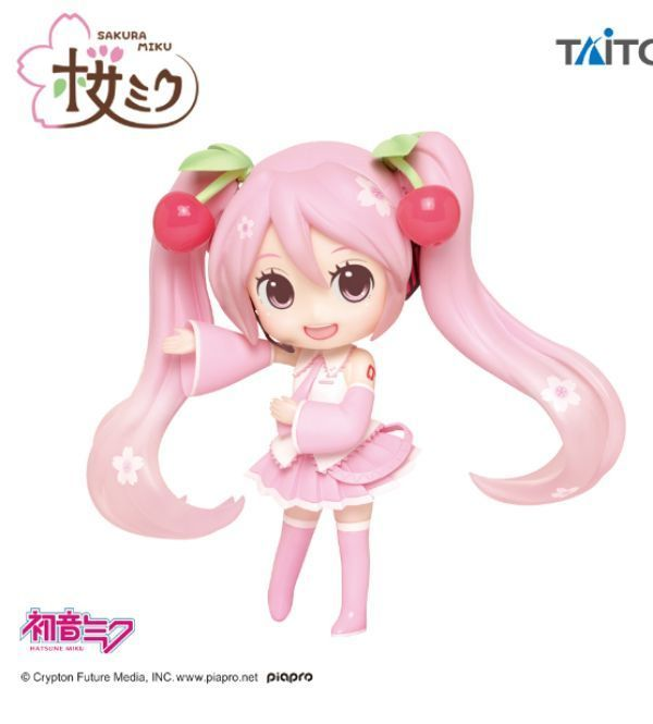 桜ミク Doll Crystalフィギュア