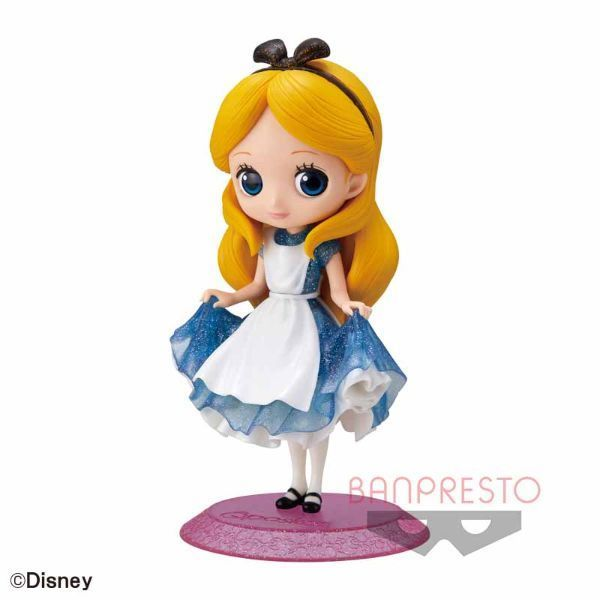 Q posket Disney Characters -Alice- Glitter line