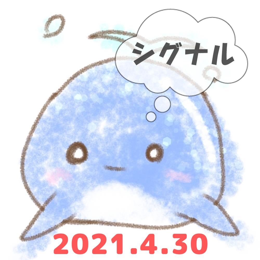 2021年4月30日のシグナル