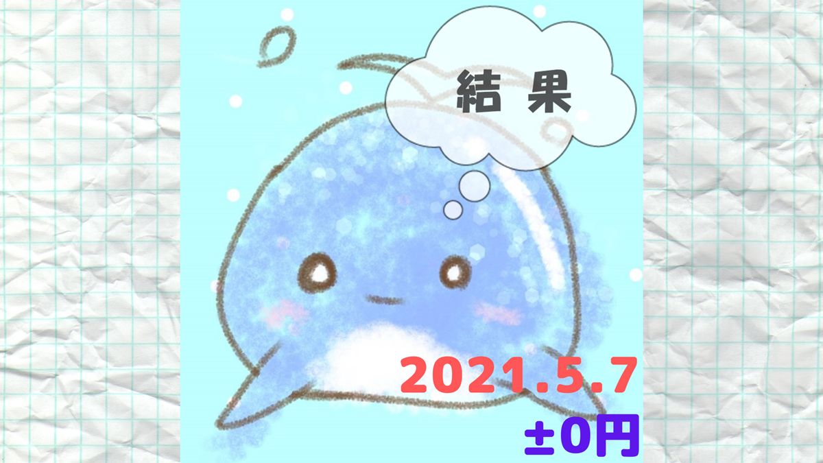 2021年5月7日の結果