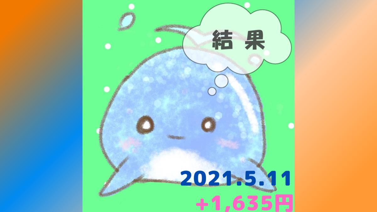 2021年5月11日の結果