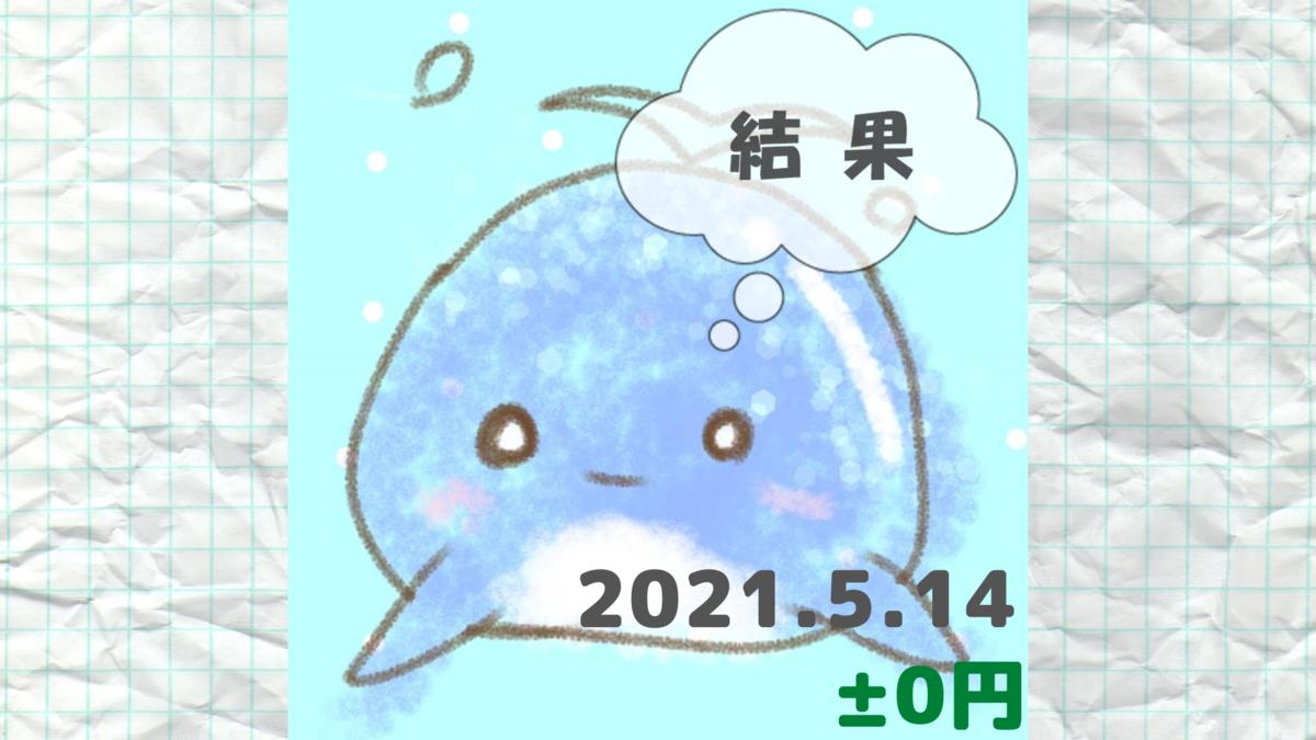 2021年5月14日の結果