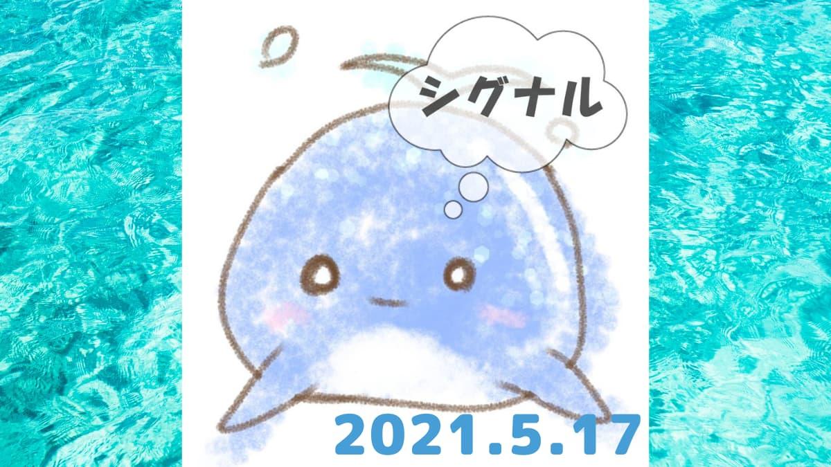 2021年5月17日のシグナル