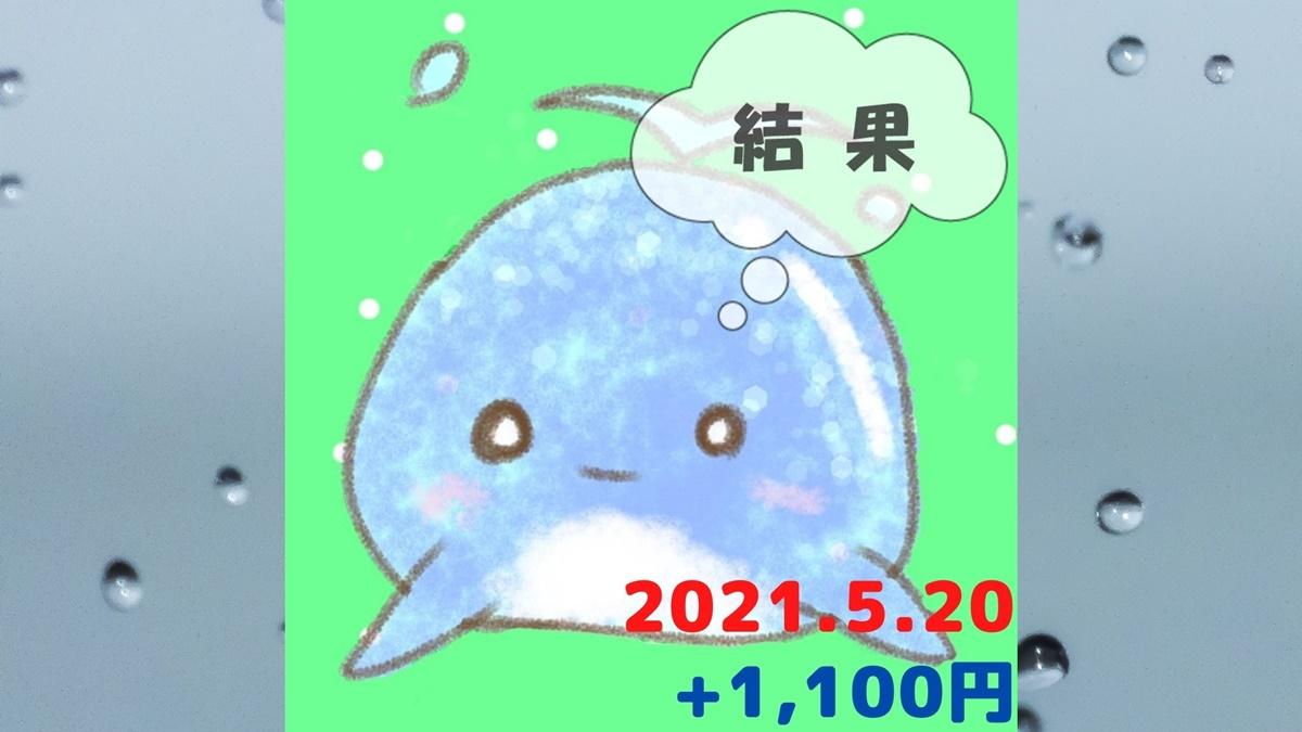 2021年5月20日の結果