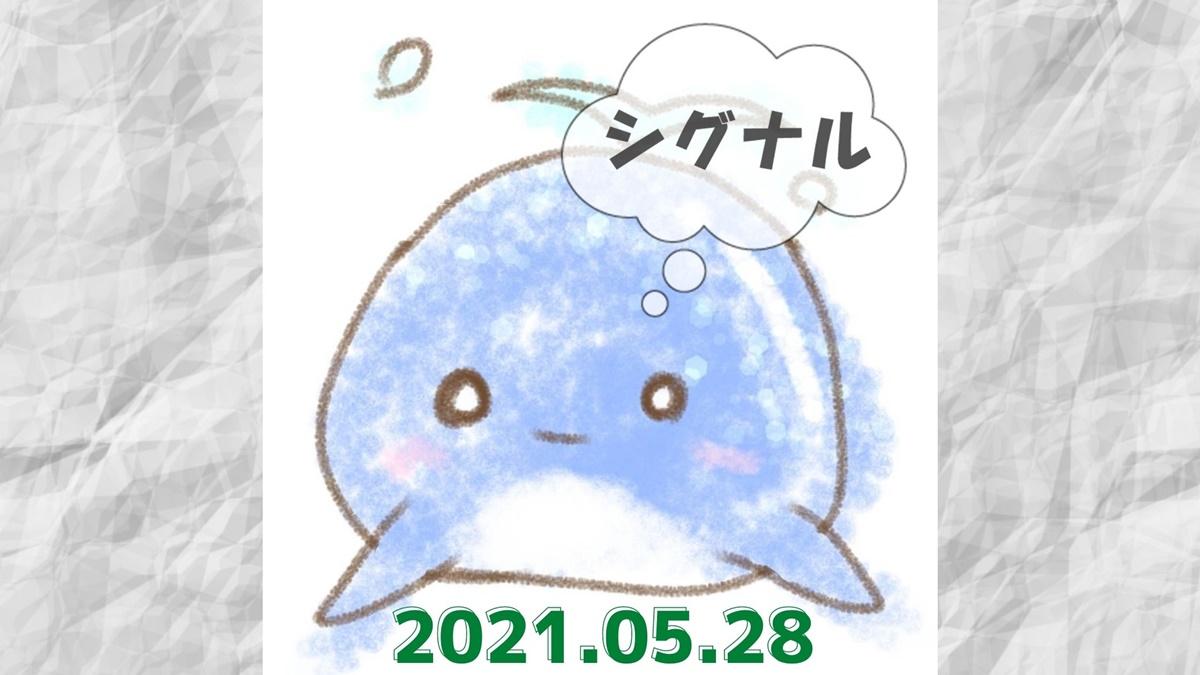 2021年5月28日のシグナル「寄り引け0枚の時」