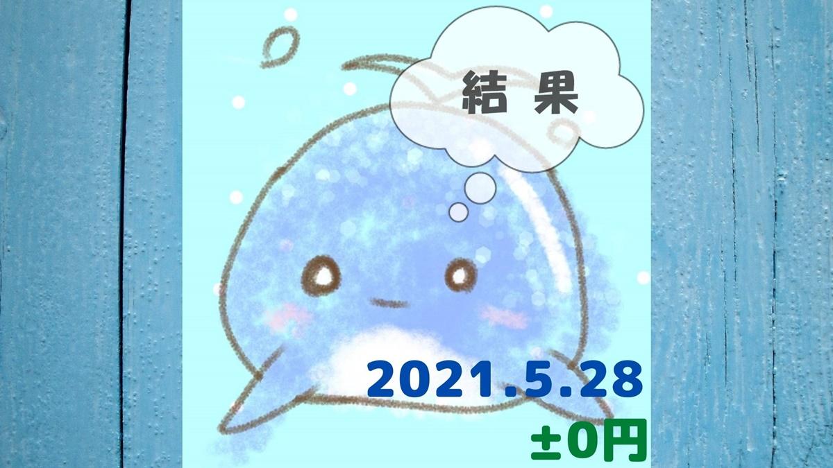 2021年5月28日の結果