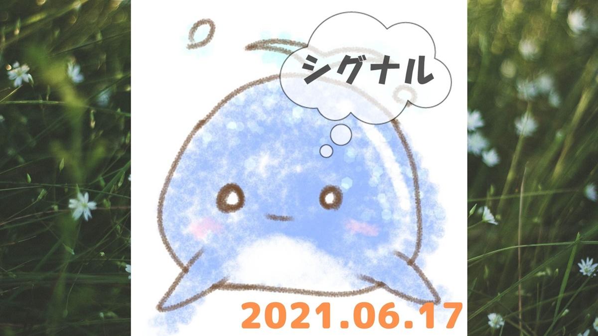 2021年6月17日のシグナル「寄り引け0枚の時」