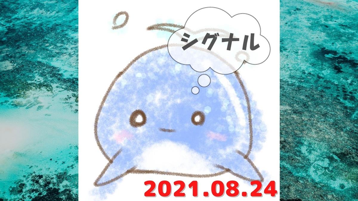 2021年8月24日のシグナル「寄り引け0枚の時」