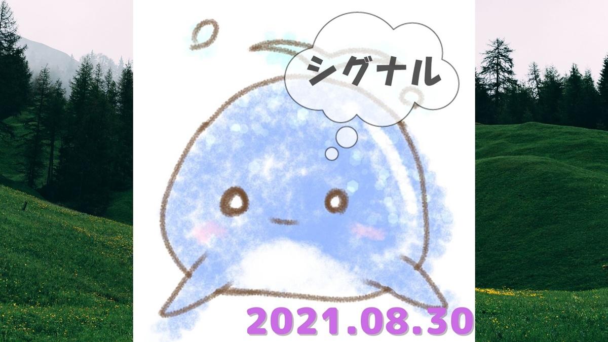 2021年8月30日のシグナル「寄り引け0枚の時」