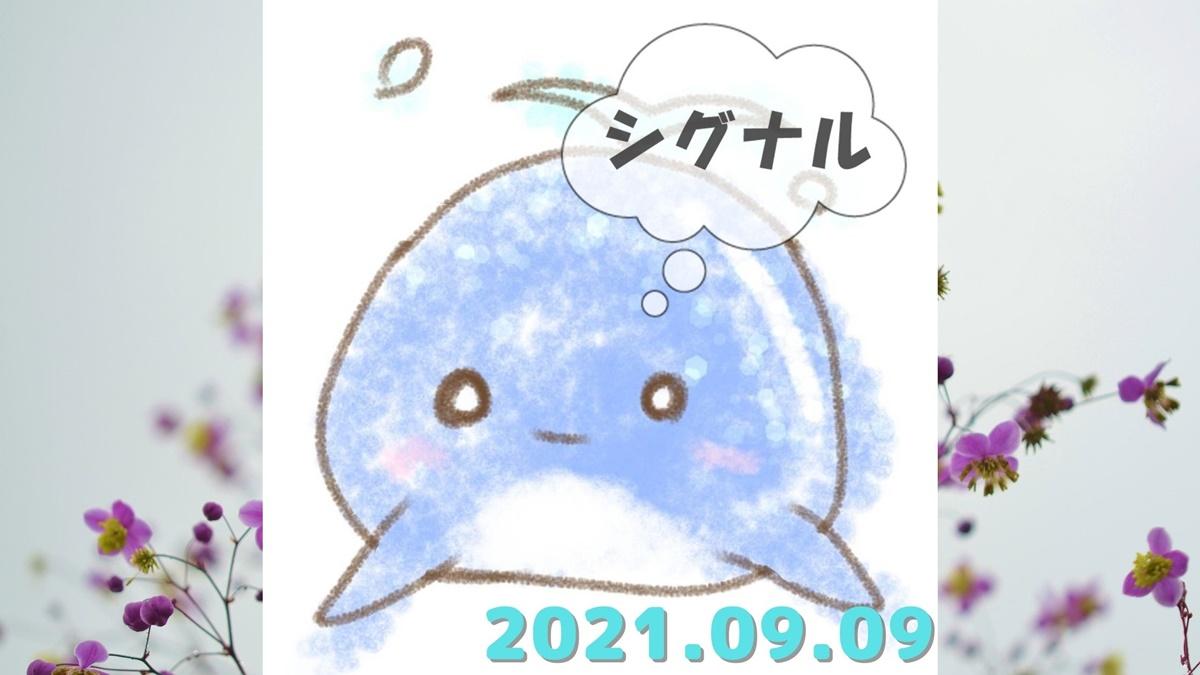 2021年9月9日(木)のシグナル「寄り引け0枚の時」