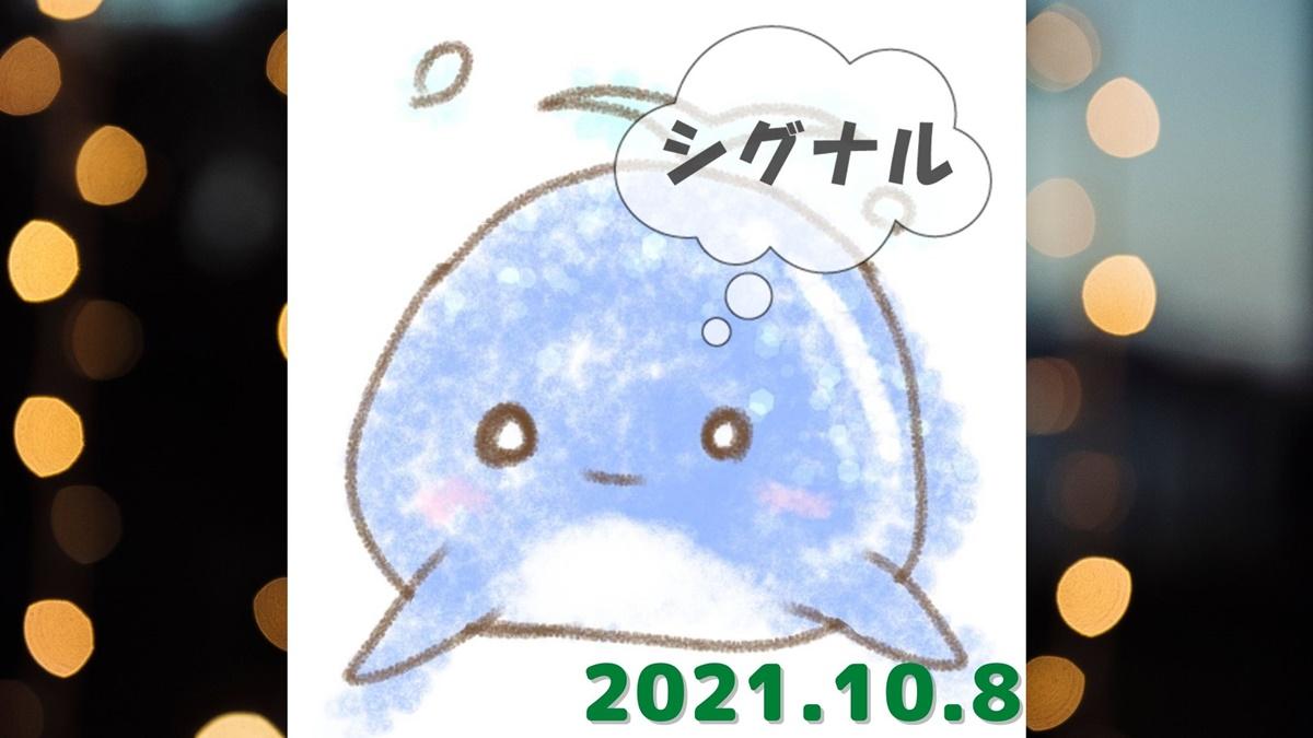 2021年10月8日(金)のシグナル