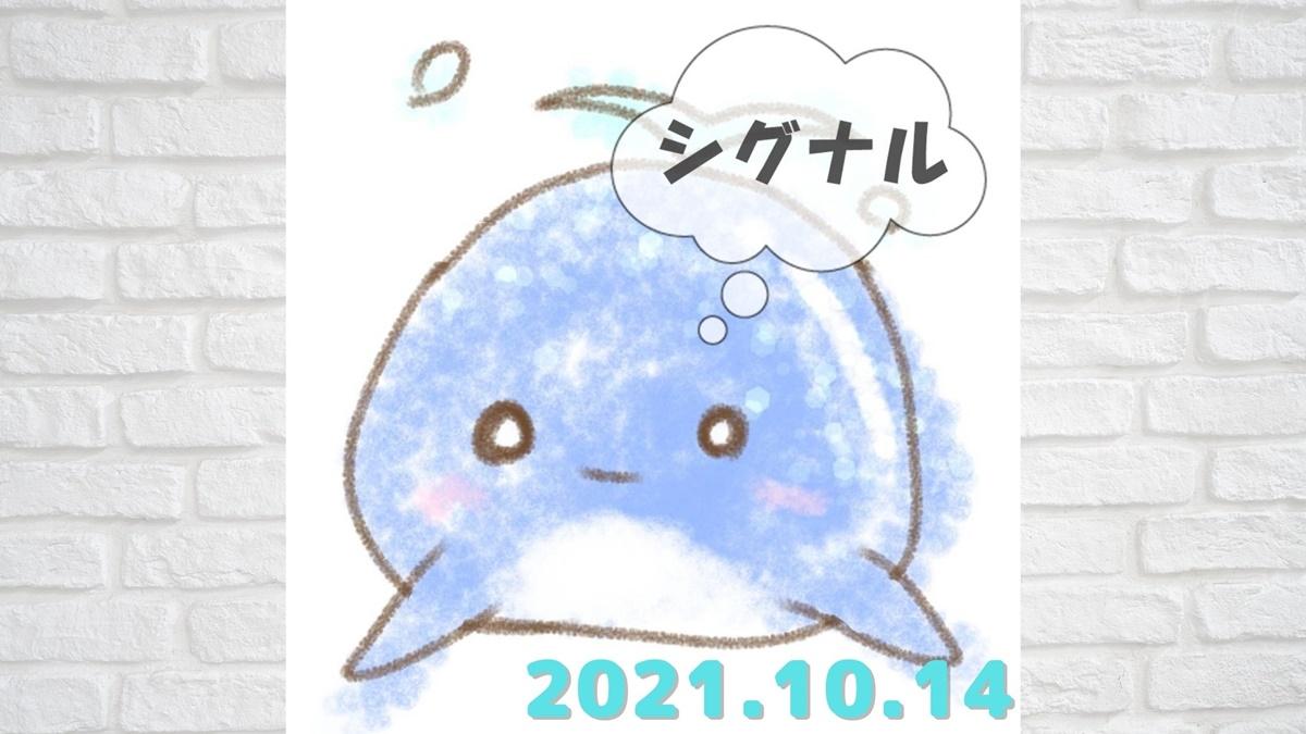 2021年10月14日(木)のシグナル