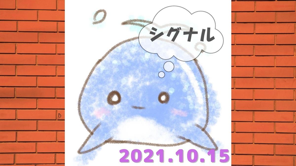 2021年10月15日(金)のシグナル