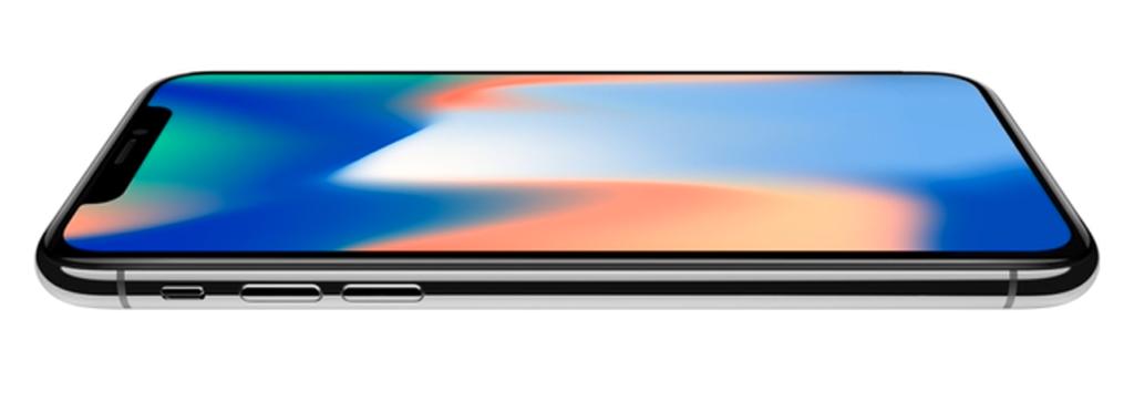 iPhoneX ディスプレイ