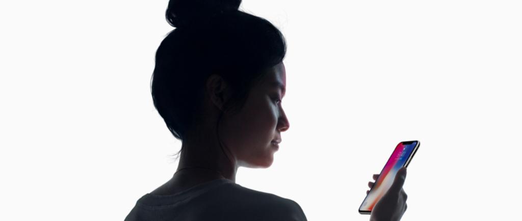 iPhoneX 顔認証