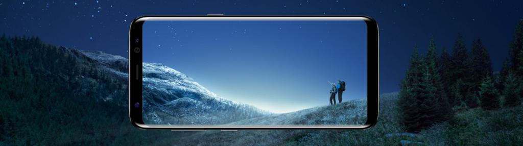 GalaxyS8 ディスプレイ