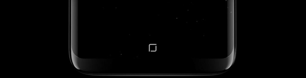 GalaxyS8 ホームボタン