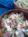 マカロニサラダとポテトサラダ